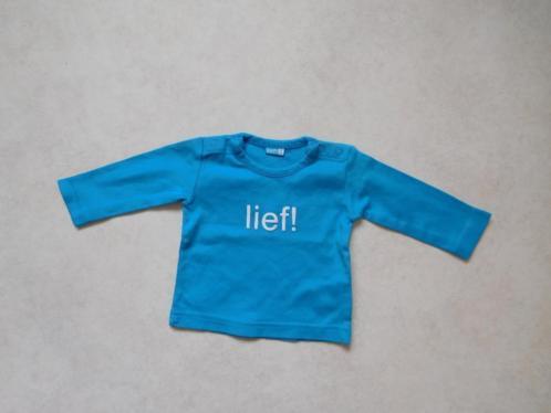 (G4) SALE! Baby blauw Lief! Longsleeve