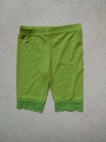 (F98) SALE! Groen baby broekje met kant