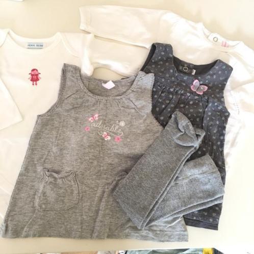 Babykleding pakket / setje meisjes / jurkjes maat 50/56