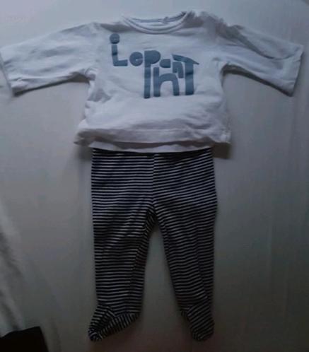 Baby shirt en broekjes setje maat 50