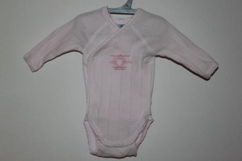 Nieuw roze rompertje van Petit Bateau maat 50 (4674)