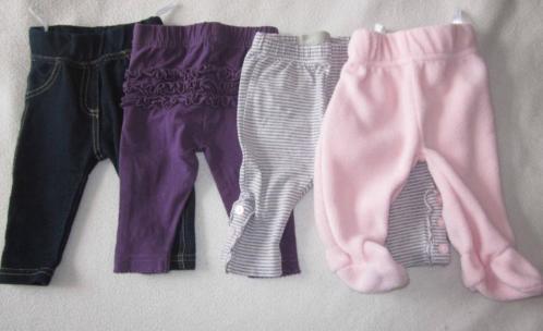 €1.50 Setje broekjes - leggings maat 50