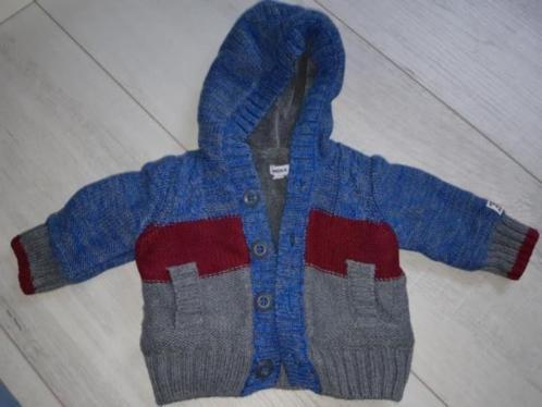 Mexx winterjas / gevoerd vest baby 50/ 56