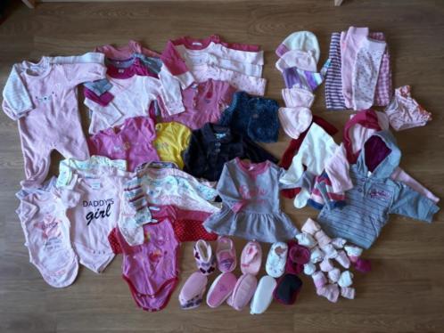 Pakket baby kleding meisje maat 50-56