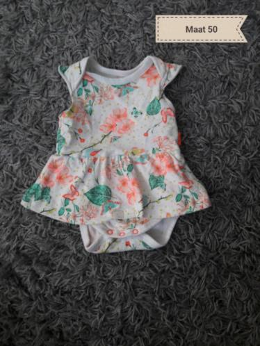 Rompers maat 50/56 zomer
