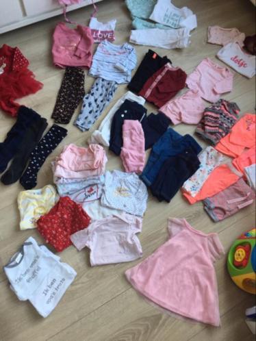 Babykleding compleet pakket 50/56