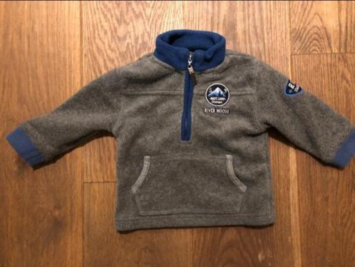 Riverwoods fleece vest ZGAN vestje warm maat 9 maanden