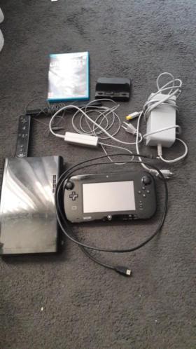 Nintendo Wii-U compleet met heel veel games.