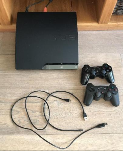 Sony PlayStation 3 PS3 Slim 120GB met gratis Minecraft game!