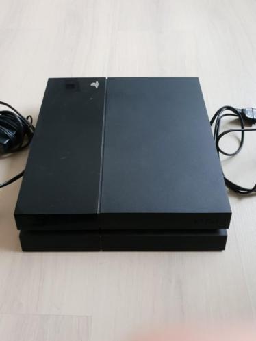PlayStation 4 500gb met één controller met oplaadock