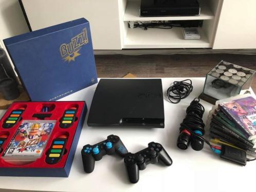 PS3 met spellen accessoires