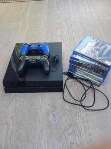 Playstation 4 met veel spellen
