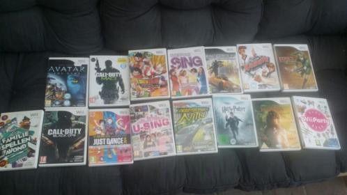 Nintendo Wii; spellen en toebehoren te koop