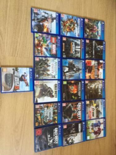 PS4 games per stuk of allemaal