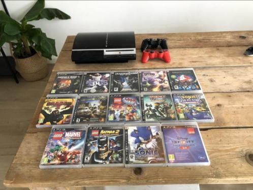 Sony PlayStation 3 40GB incl 14 spellen
