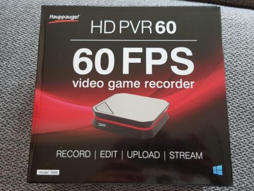 NIEUW !!!! Video Game Recorder Hauppauge HD PVR 60 !!!!!!