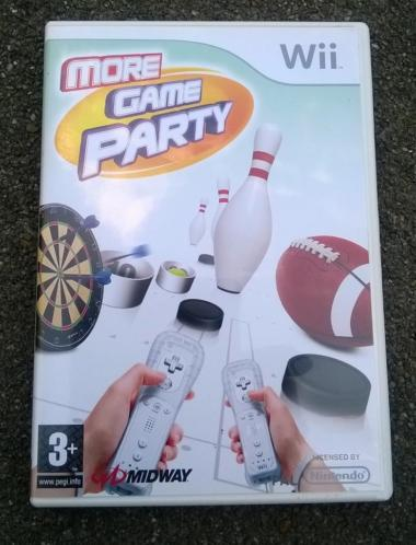 Wii spel More Game Party