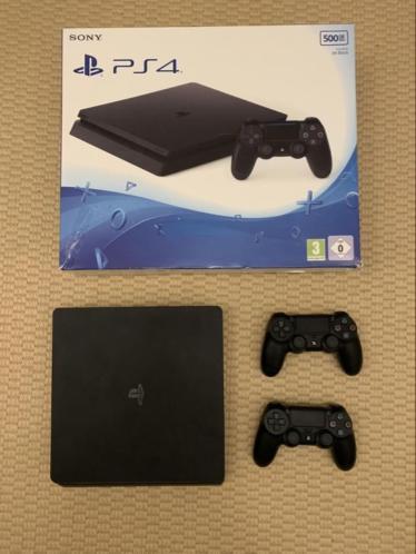 Playstation 4 slim - 500 GB - in zeer goede staat