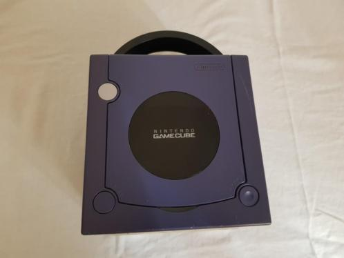 Paarse Nintendo Gamecube Console