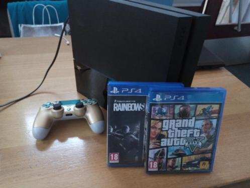 Playstation 4 met games en controller