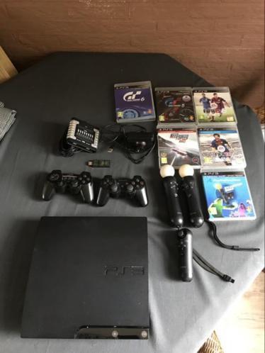 PlayStation 3 met 7 spellen