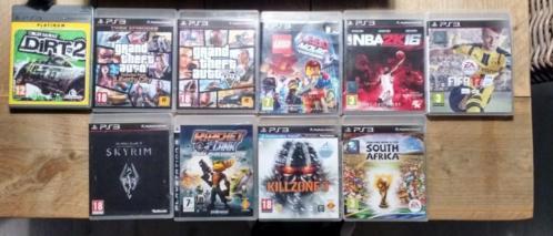 Playstation 3 met spellen en lcd tv