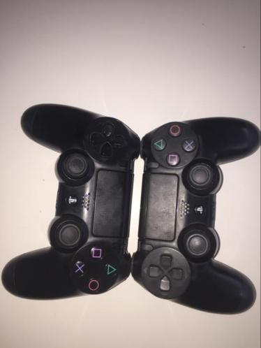 2 playstation 4 controllers