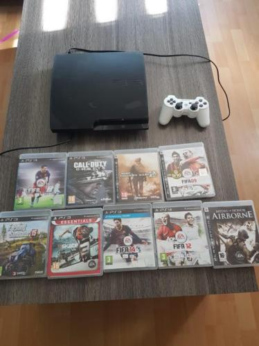 PlayStation 3 met games en controller