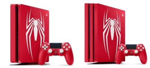 PS4 SLIM Spider-Man Limited edition 1TB spiderman evt PRO