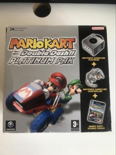 Nintendo GameCube Mario kart double dash platinum pak