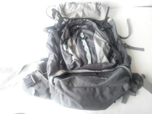 Gelert elite backpack 60 20 dichtritsbaar achter, daypack